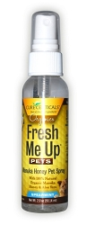 2-PACK PS-59000-2 CureCeuticals® Fresh Me Up Pet Cleansing Spray - SPEARMINT 2 oz. (Pack of 2)